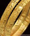 BR1074-2.8 Grand Real Gold Ethnic Bangles Set For Ladies Bridal Design