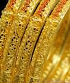 BR1156-2.4 Tremendous Gold Forming Enamel Model Bangles For Ladies
