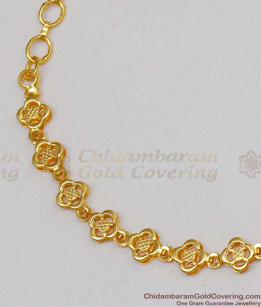 Unique Gold Tone Luxury Design Marriage Wear Bracelet Collection BRAC095