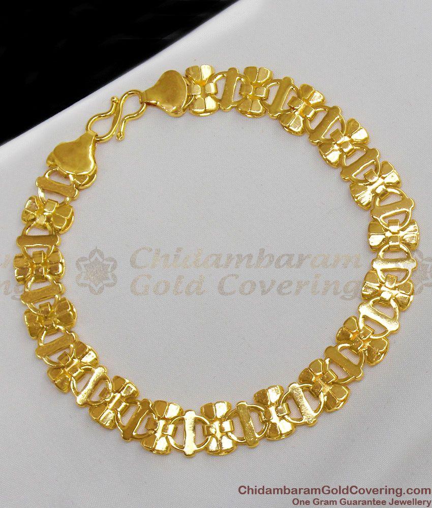 Real Gold Ribbon Model Bracelet Ornament For Womens Online BRAC113