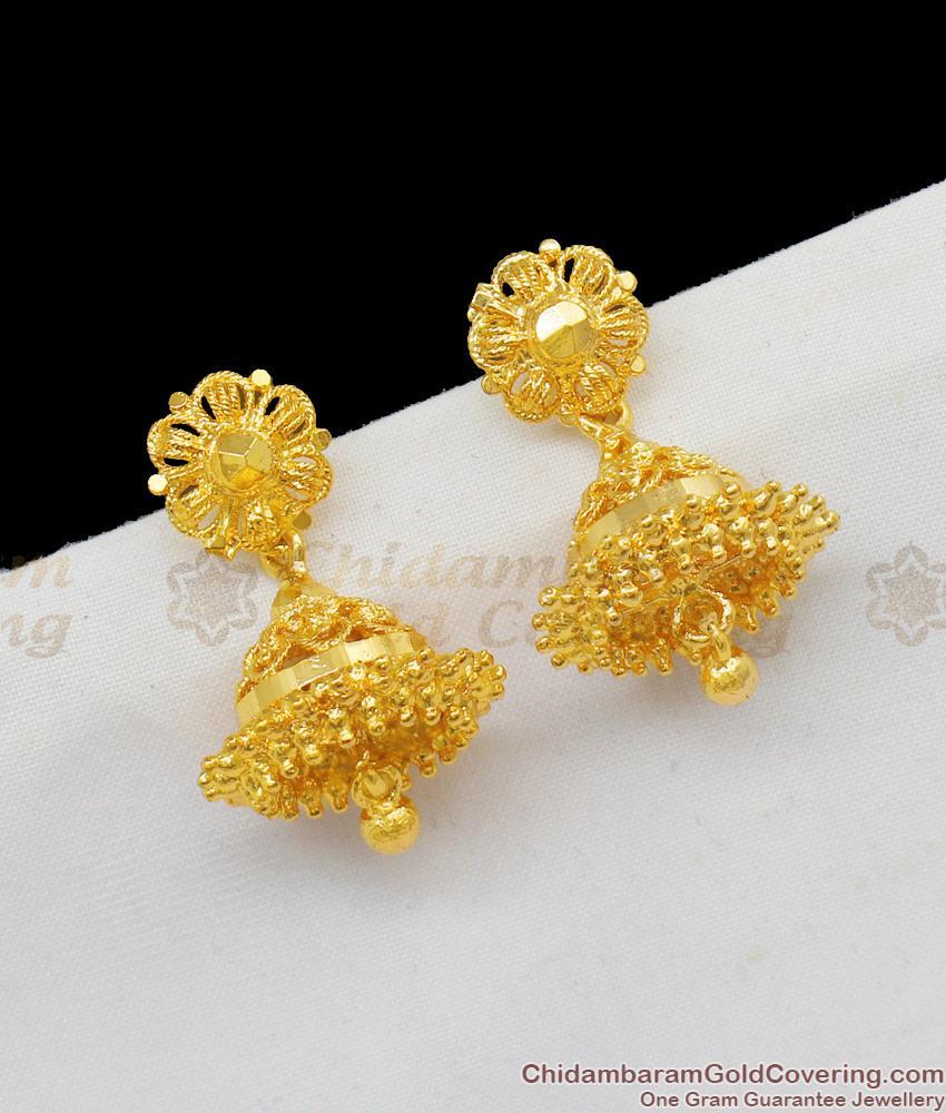 One Gram Gold Imitation Jhumki Collections Online Offer Price ER1584