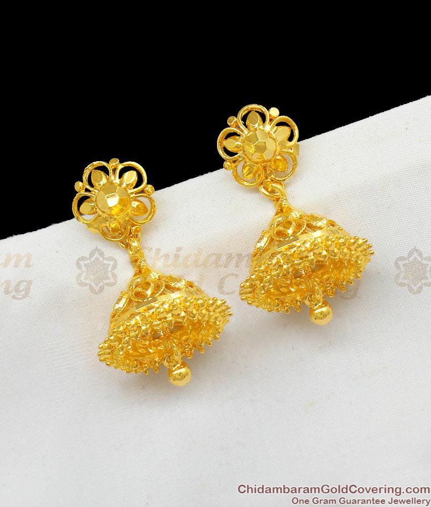 Umbrella Jhumki Collections One Gram Gold Imitation Online Offer Price ER1595