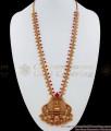 ANTQ1003 - Premium Antique Matt Finish Lakshmi Dollar Haram Set Bridal Collections