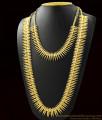 Long Mullaipoo Necklace Combo Set Kerala Gold Design ARRG387