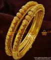 BR143-2.8 Size Antique Design Heavy Bangles Handmade Unique Imitation Jewelry
