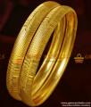 BR210-2.4 Size Matt Finish Attractive Real Gold Like Guarantee Imitation Bangles