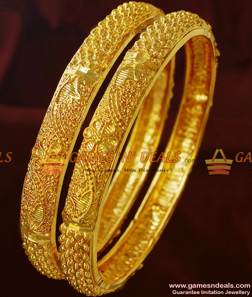 BR211-2.6 Size Kerala Pattern Best Selling Guarantee Imitation Bangles Online