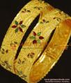 BR240-2.6 Size Enamel Design Broad Kada Bangles for Women Buy Online