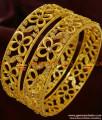 BS055-2.8 Size American Diamond Sparkling Grand 2 Pieces Bridal Wear Imitation Bangle