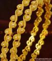 BS066-2.8 Size Designer Pick Grand Party Wear Semi Precious AD Stone Bangles