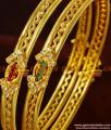 BS067-2.6 Size Guarantee Bangles Party Wear AD Stone Imitation Jewelry