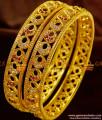 BS069-2.8 Bridal Design Party Wear Cubic Zircon Stone Imitation Bangles