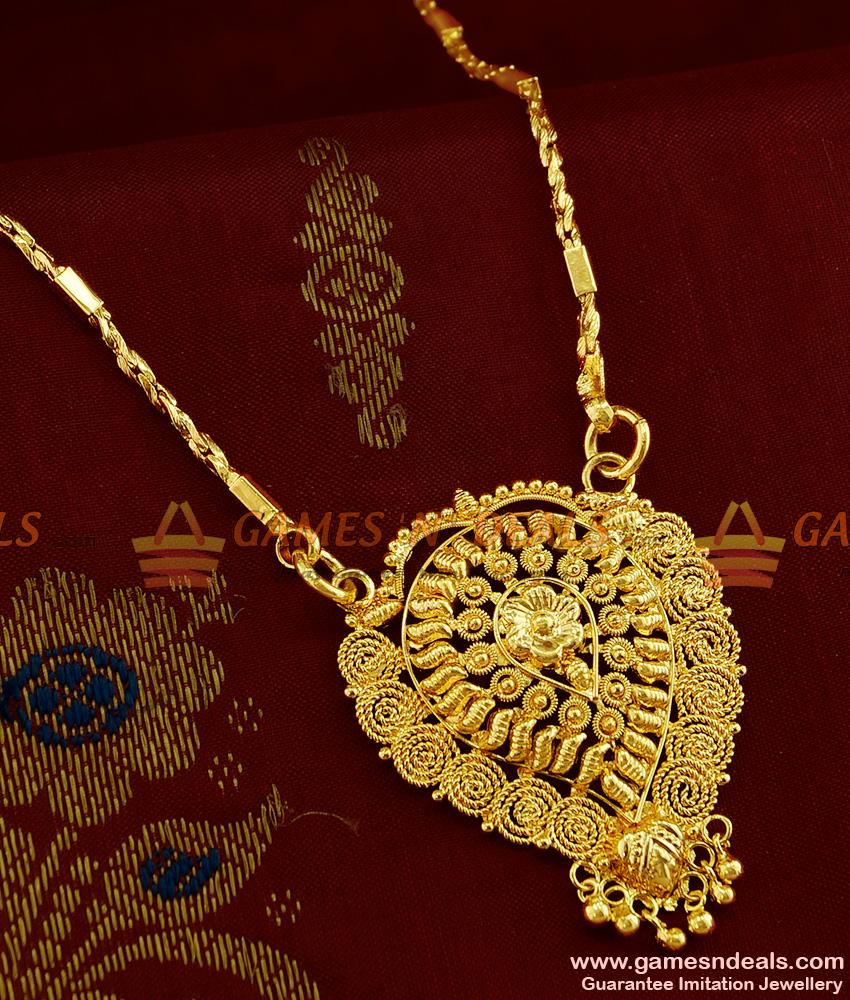 BGDR265 - Daily Wear Light Weight Kerala Design Medium Size Imitation Dollar