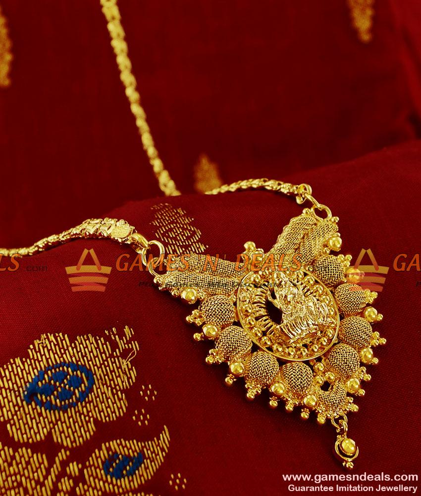 BGDR97 - Traditional Lakshmi Dollar South Indian Tamilnadu ...