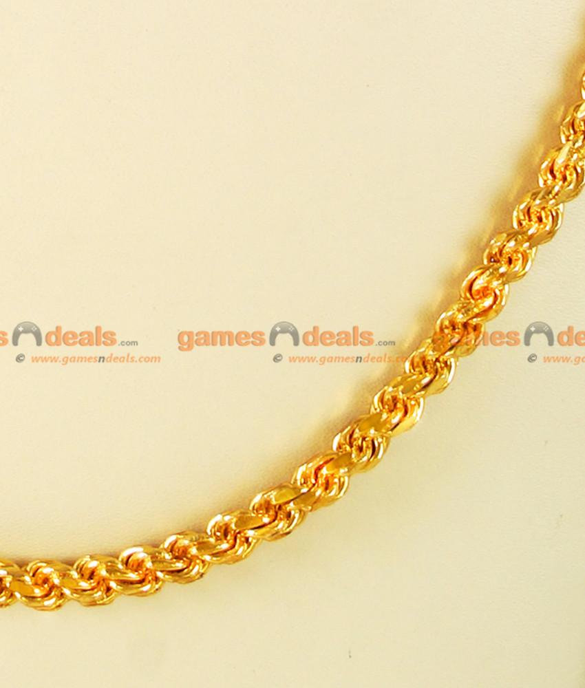 CDAS02-OT-LG - 30 inches Over Thick Thirumangalyam Kodi (Thali Saradu) Rope Chain