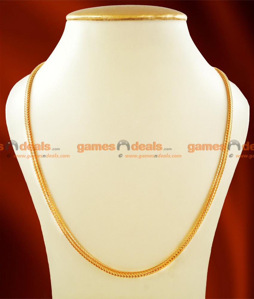 CDAS04 - Gold Plated Thirumangalyam Kodi (Thali Saradu) Knitted Square Chain