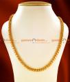 CDAS06 - 24ct Pure Gold Plated Chain Traditional Kerala Jasmine Hearts Chain