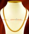 CHRT19-LG - 30 inches Gold Plated Jewelry Kerala Sundari Ball Design South Indian Chain
