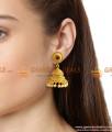 Gold Plated Antique Jhumki Jhumka Earrings Set Wedding Jewelry ER791