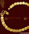 BRAC019 - Grand Heartin Design Imitation Bracelet Gold Plated Jewelry Buy Online