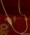 MCH050 - Aiympon AD Stone Mogappu Dollar Daily Wear Gothuma Chain Thali Design