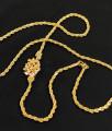Daily Wear Guarantee Mogappu Design with Twisted Saradu Chain MCH087