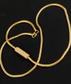 White Stone Round Mugappu Chain for Married Women MCH121