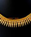 NCKN46 - Gold Plated Traditional Mullaipoo Malai Choker Necklace
