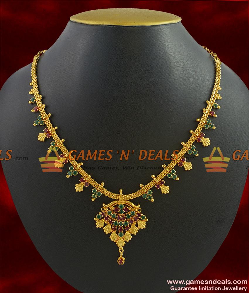 NCKN255 - Guarantee Imitation Necklace South Indian ...