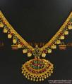 NCKN310 - Grand Bridal Multicolor AD Stone Guarantee Imitation Necklace