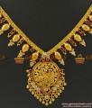 NCKN367 - Trendy South Indian Jewelry Ruby Stone Imitation Necklace Low Price