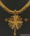 NCKN373 - South Indian Grand AD Stone Guarantee Imitation Necklace