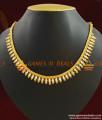 Grand Bridal White AD Stone Necklace Handmade Jewelry NCKN409