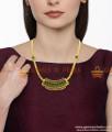 Big Stone Necklaces Bridal Wear Imitation Jewellery Latest Design NCKN414