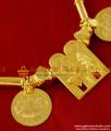 THAL11 Gold Plated Jewelry Meenakshi Sundareshwar Thali Lakshmi Kasu Thali Set